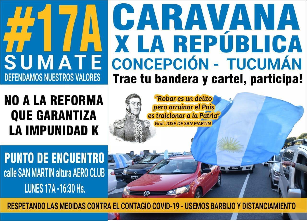 caravana por la república