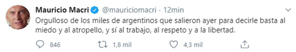 macri tweet